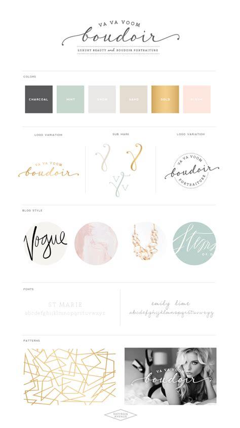 branding addicts brand board modern a modern website design va va voom boudoir