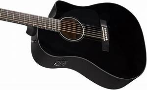 Fender CD-60CE Dreadnought Cutaway Acoustic-Electric ...
