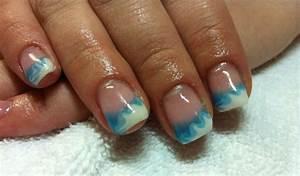 Déco French Manucure : deco ongles french manucure gel blanc bleu french manucure gel id es fra ches en 36 photos ~ Farleysfitness.com Idées de Décoration