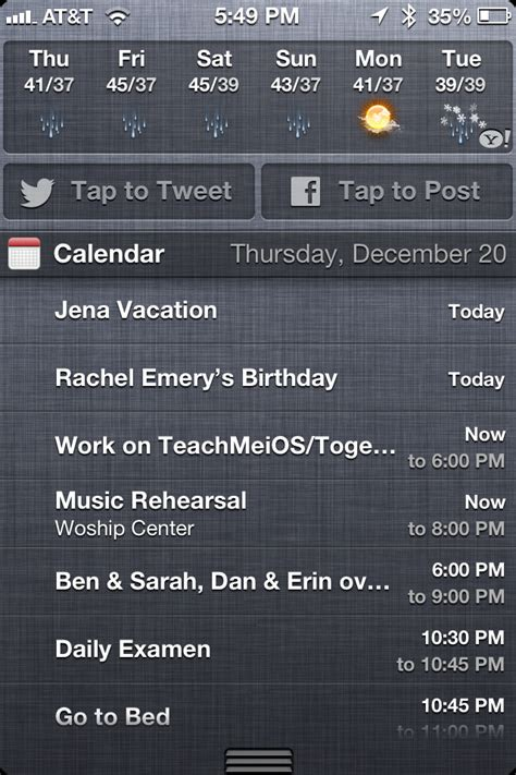 notification center iphone how to set up and customize notification center on iphone