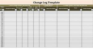 change log template free log templates With sharps injury log template