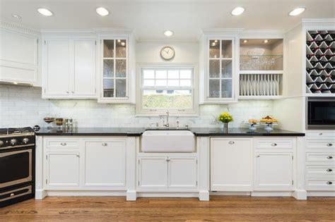 stove  corner transitional kitchen  wright design