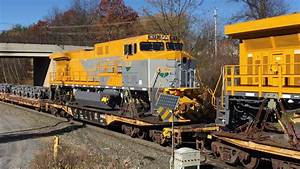 Ns 056 With Export Ge Locomotives For Mozambique