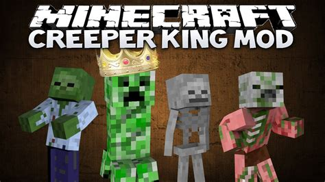 minecraft creeper king mod control  zombie army    creeper    mod