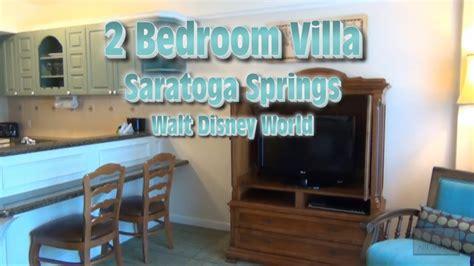 Disney World 2 Bedroom Suites by Saratoga Springs 2 Bedroom Villa Tour Walt Disney World