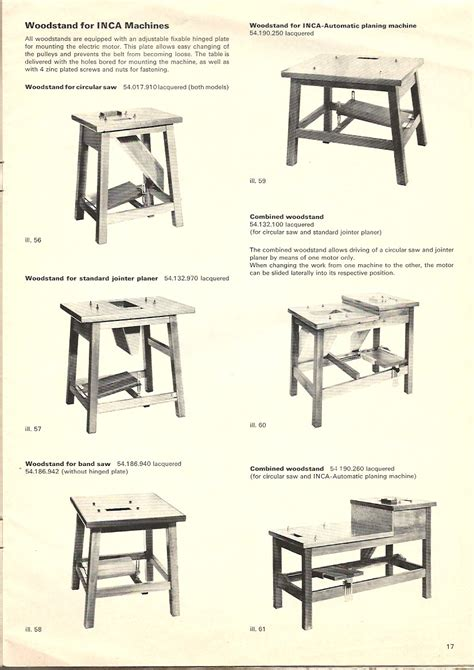 injecta woodworking machines model numbers