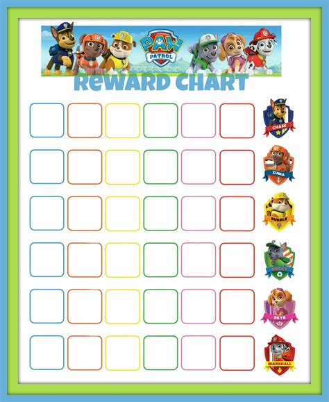 Paw Patrol Reward Chart  Baby Burdette  Pinterest  Paw. Creative Business Banners. Doesn Signs. Valentine Lettering. Domed Lettering. Tablet Back Stickers. Hindu Signs. Nature Themed Decals. Minnie Mouse Murals