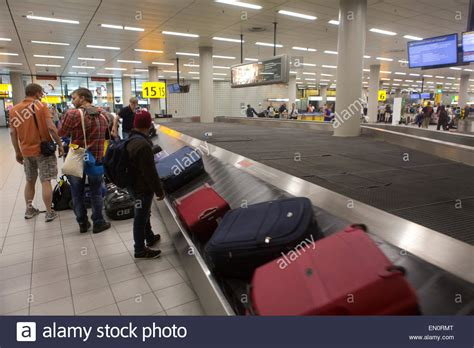 Schiphol Arrival by Baggage Arrival At Schiphol Airport Stock Photo 81767864