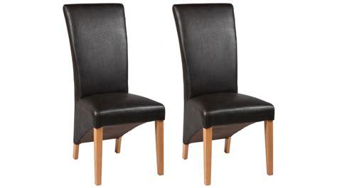 chaise simili cuir marron davaus chaise cuisine simili cuir avec des idées