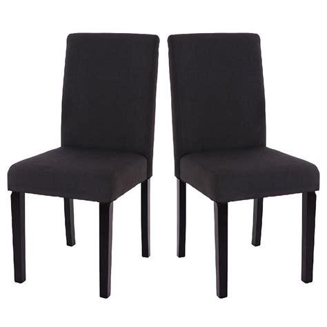 chaise de salle mobilier table chaise de salle a manger noir