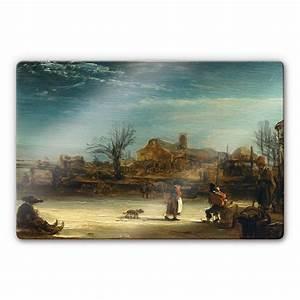 Tableau En Verre : tableau en verre rembrandt wall ~ Melissatoandfro.com Idées de Décoration