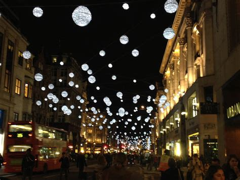 oxford street christmas lights     london