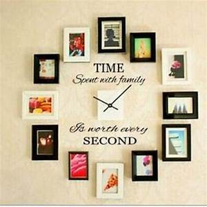 Time spent with family quote wall decoration letters vinyl