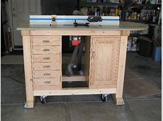 Charles Krieger's Router Table Project