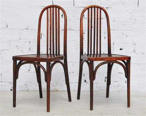chaises thonet thonet vintage chairs deco style 1930