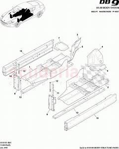Aston Martin Db9 Floor Sub Assy