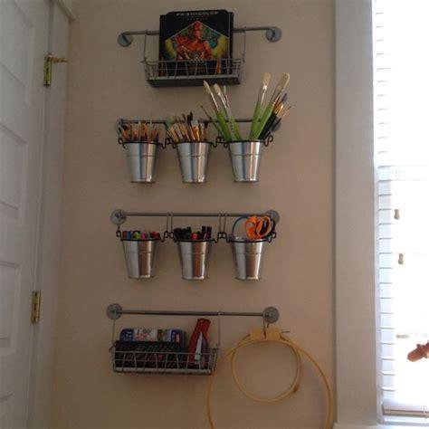 office wall organization ikea organization office supplies on wall by printer 23971