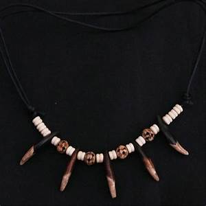 TNL373 Tibet Wolf Teeth Amulets Necklace for Man with ...