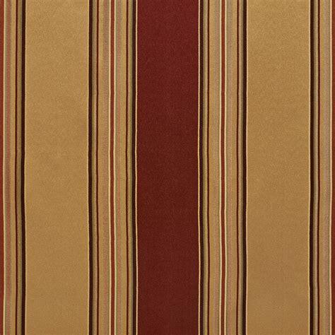 beige  burgundy shiny large stripe damask  silk