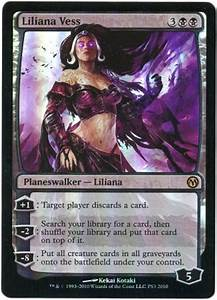 Liliana Vess - DotP Foil - Promo Cards - Magic The Gathering