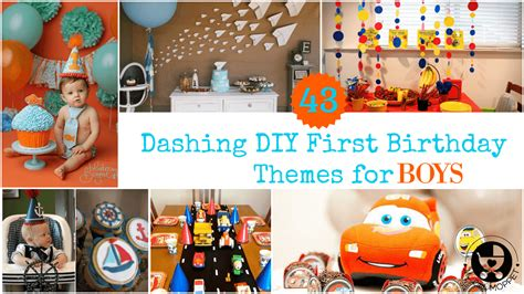 1st birthday party ideas for boys best on a boy 43 dashing diy boy birthday themes
