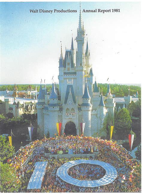 1981 Walt Disney Productions Annual Report - Pulling a ...