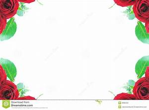 Red rose corner borders stock photo. Image of holiday ...