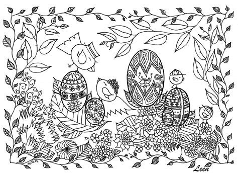 easter coloring pages for adults best coloring pages for
