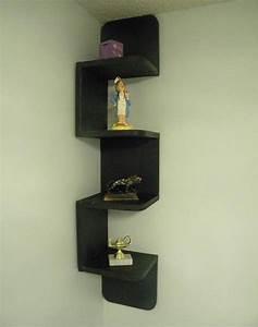 Etagere Cube Bois : 1001 id es tag re d 39 angle murale arrondissez les angles ~ Teatrodelosmanantiales.com Idées de Décoration