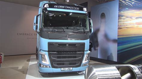 volvo fh  lng tractor truck  exterior