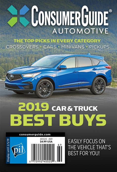 Meet the 2019 Consumer Guide Best Buys | The Daily Drive ...