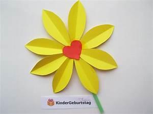 Blumen Aus Papier : blumen selber basteln anleitung f r tolle bastelidee aus papier ~ Udekor.club Haus und Dekorationen