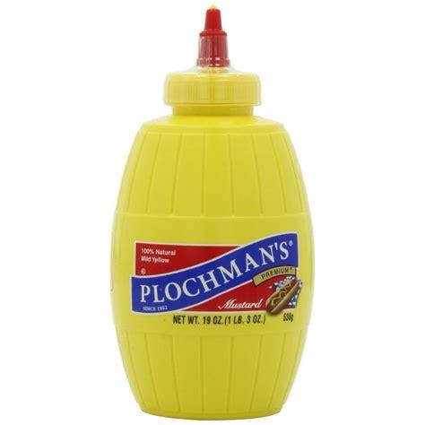 Plochmans Mild Yellow Mustard - Mökkimies.com