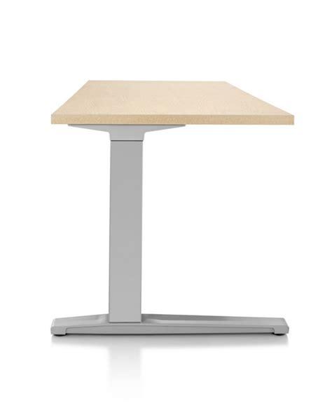koncept lighting hermanmiller renew rectangular sit stand desk wood the