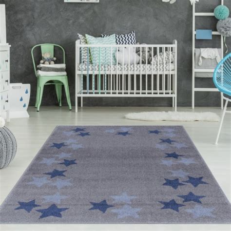 kinderzimmer teppich blau kinderzimmer teppich grau blau sterne teppich4kids