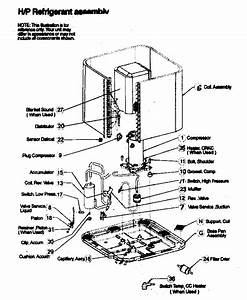 Refrigeration Components Diagram  U0026 Parts List For Model