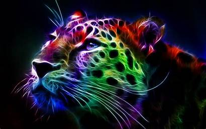 Desktop Backgrounds Trippy Leopard Fractal Wallpapersafari Weed