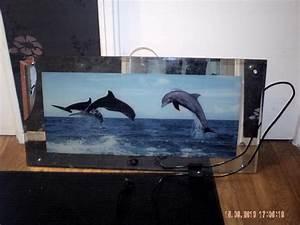 Cadre Message Lumineux : cadre dauphin lumineux ~ Teatrodelosmanantiales.com Idées de Décoration