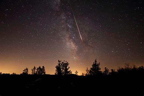 Perseid Meteorite Shower by Perseid Meteor Shower 2016