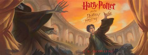 harry poter and the harry potter and the deathly hallows book covers tech journey