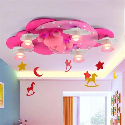 Pendelleuchte Kinderzimmer Mädchen werbung s 252 sse rosa kinderzimmer deckenle mit b 228 rchen