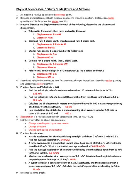 distance and displacement practice worksheet the best worksheets image collection download and