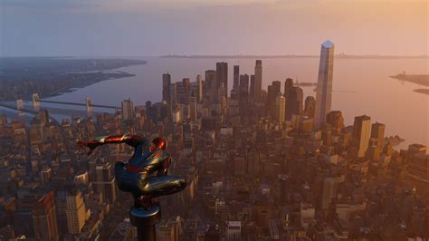 spiderman ps  city edge  hd games  wallpapers