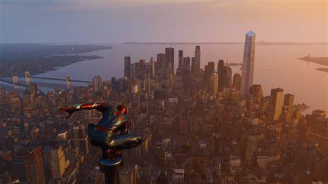 spiderman ps  city edge  laptop full hd