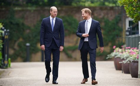 Prinči Viljams un Harijs satiekas princeses Diānas ...