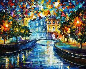 Leonid Afremov: One of the Most Colorful Painters Ever