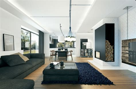 Modernes Haus Innen by Small Modern Home Visualization