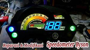 Repair And Modification Speedometer Yamaha Fz 150    Byson