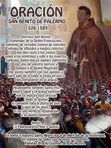 Oraci U00f3n A San Benito De Palermo