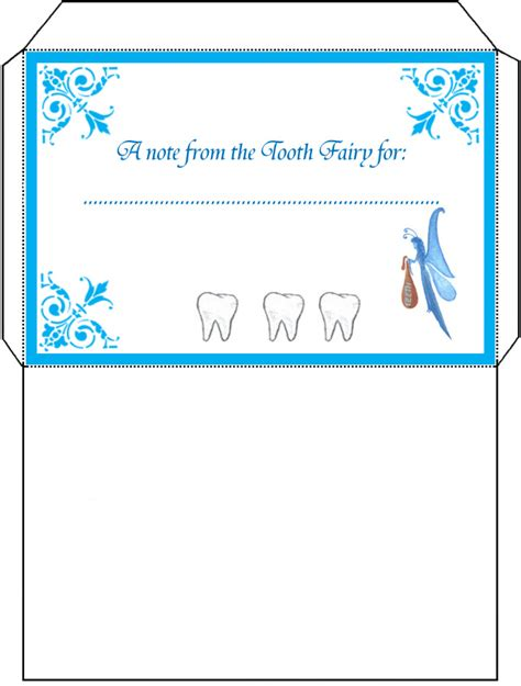 Free Printable Tooth Letter Template by Tooth Envelope Rooftop Post Printables